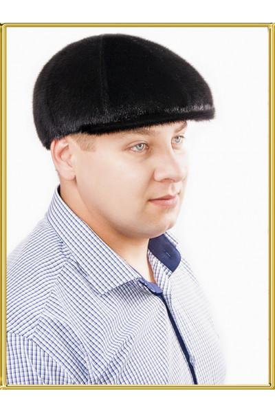 """Кепка из нерпы мужская """"Хулиганка"""""""