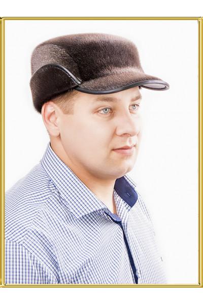 Зимняя мужская шапка из нерпы Редут-2