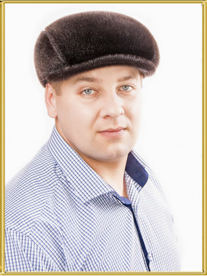 "Зимняя кепка из нерпы ""Реглан"""
