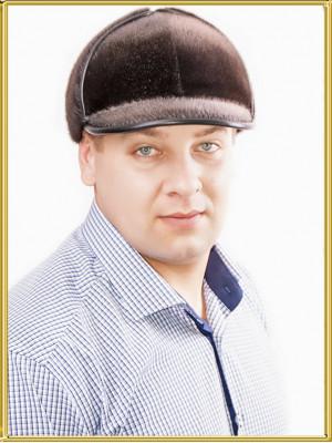 """Шапка из меха нерпы """"Шерлок-2"""""""