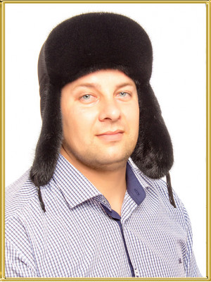 """Мужская норковая шапка """"Алмаз"""""""