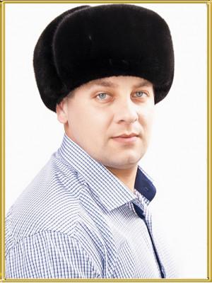 """Шапка ушанка кожаная """"Арктик"""""""