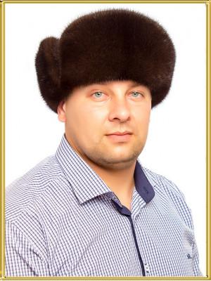 """Мужская норковая шапка """"Боярка-2"""""""