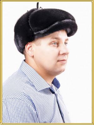 "Норковая кепка мужская ""Ватсон"""