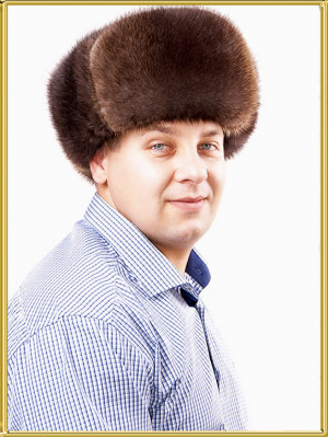 """Ондатровая шапка мужская """"Ямал"""""""