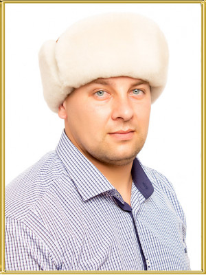 "Шапка из овчины мужская ""Британка"""