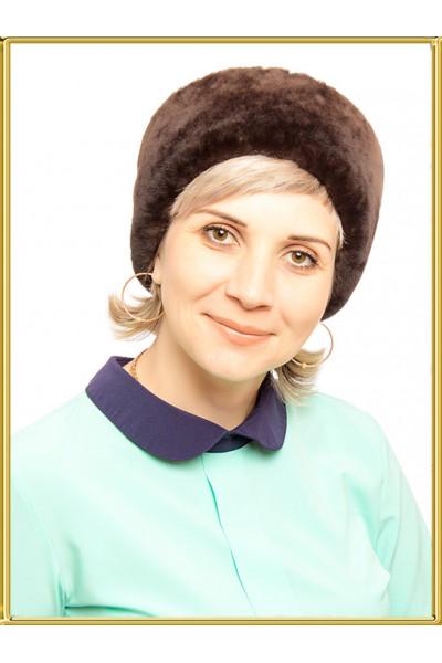 """Шапка из овчины """"Мария"""""""