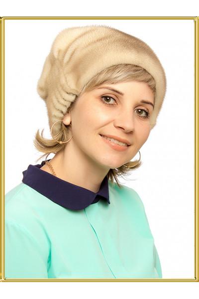 """Шапка из норки женская """"Элина"""""""