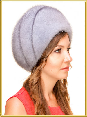 "Норковая шапка ""Ирена"""