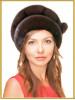 """Женская норковая шапка """"Нина"""""""