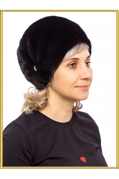 "Норковая шапка ""Шарик-2"""