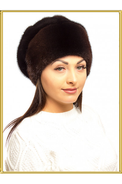 """Норковая шапка """"Зара-9"""""""