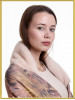 "Зимний платок с мехом ""Ария"""